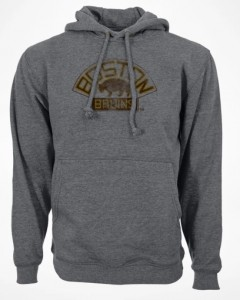 Mikina Boston Bruins Retro Hood