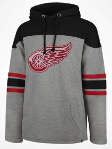Mikina Detroit Red Wings '47 Huron Hood