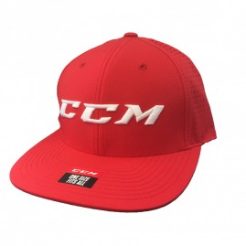 Síťovaný Snapback CCM Team Adjustable Red