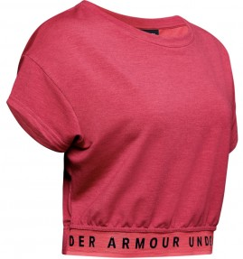 Dámské Tričko Under Armour Featherweight Fleece Crop Top