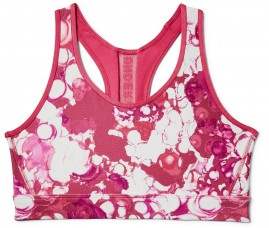 Podprsenka Under Armour Mid Mesh Wordmark Bra